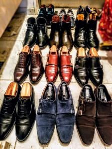 靴磨きは心磨き