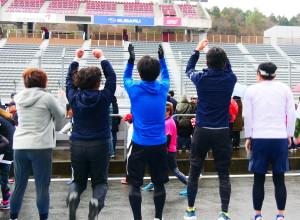 頑張る姿に感動したマラソン!